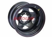 Диск колесный стальной УАЗ R15 OFF-ROAD Wheels 1580-53910 BL -19 А15 (черный)