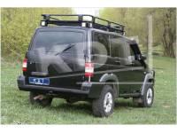 Задний силовой бампер Спорт - УАЗ Патриот KDT